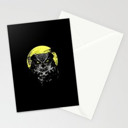 owl moon Stationery Cards