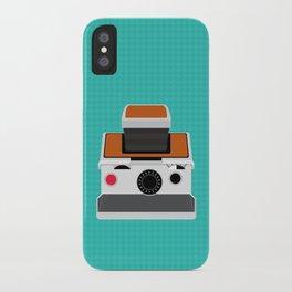 Polaroid SX-70 Land Camera iPhone Case