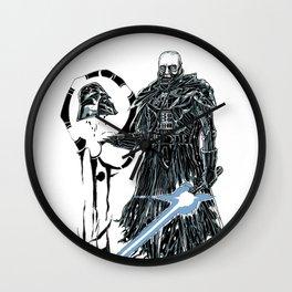 Darth Vader Redeemed Wall Clock