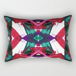 Tropical Streaks Rectangular Pillow