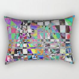 Mosaic Mountain Rectangular Pillow