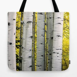 Into the Aspen Woods Tote Bag
