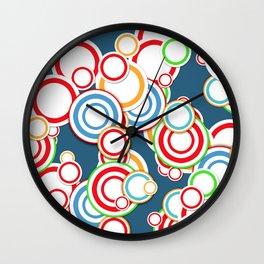 Pattern circle top Wall Clock