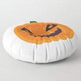 Halloween Pumpkin Face Floor Pillow
