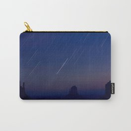 Monument Valley Star Trails Carry-All Pouch