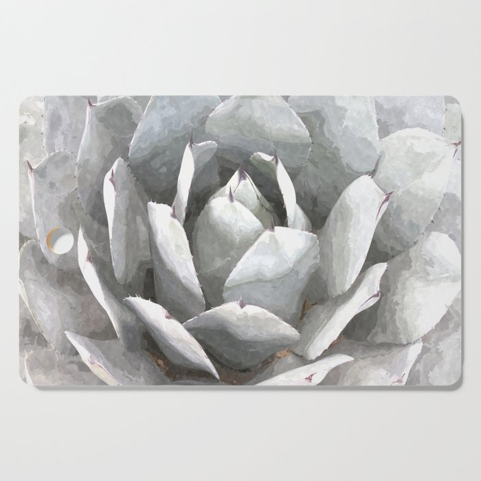Succulent cactus watercolor Cutting Board