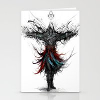 assassins creed Stationery Cards featuring assassins creed by ururuty