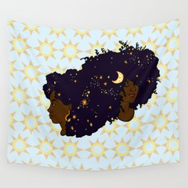 Sun Sisters 02 Wall Tapestry