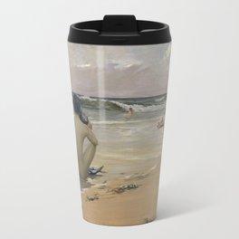 Rupert Bunny - Sea idyll, 1891 Travel Mug