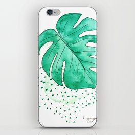monstera monday iPhone Skin