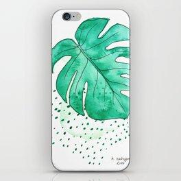 monstera monday iPhone Skin