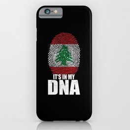 It's In My DNA Lebanon iPhone Case