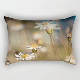 Wild flower - Botanical Photography Rectangular Pillow