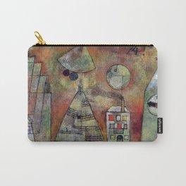 "Paul Klee ""Schicksalstunde um dreiviertel zwölf (Fate hour at three-quarters twelve)"" Carry-All Pouch"