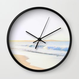 Sunset at Noosa Main beach Wall Clock