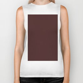 Dark Sienna Brown Light Pixel Dust Biker Tank