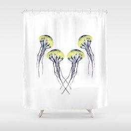 Jelly Groundsel Shower Curtain