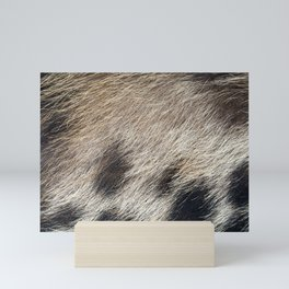 Pig Skin Hair Mini Art Print