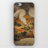 caitlin hackett iPhone & iPod Skins featuring The Kings Request by Corinne Reid