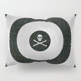 Silver Target Pillow Sham