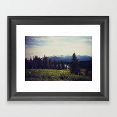 Lake Irwin Framed Art Print