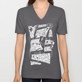 Story by the minister with a computer pituitary Unisex V-Neck
