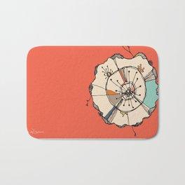 Urchin Orange Bath Mat