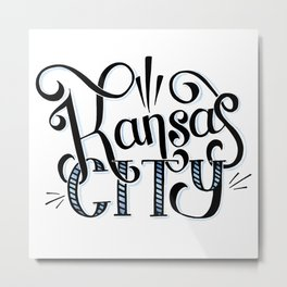 Kansas City Metal Print