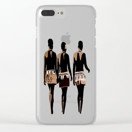 zulu sisters Clear iPhone Case