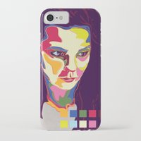 bjork iPhone & iPod Cases featuring Bjork by mr. michael temple