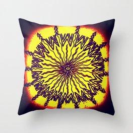 tribal breakthrough Throw Pillow