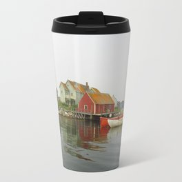 Fog in the Maritimes Travel Mug