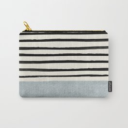 Silver x Stripes Carry-All Pouch