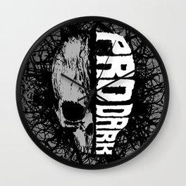 Pro Dark Wall Clock