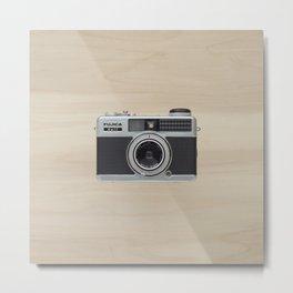 Fujica Half Frame - vintage camera  Metal Print