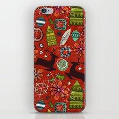 joyous jumble rust iPhone & iPod Skin