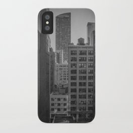 grimy nyc window... iPhone Case