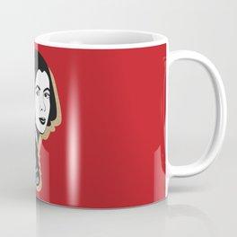 We Tell Stories - Joan Didion - Red Coffee Mug