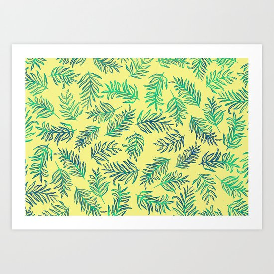 Fresh summer Art Print