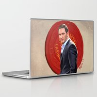 inception Laptop & iPad Skins featuring Inception - Mr Eames by Mel Hampson