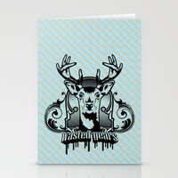 wasted rita Stationery Cards featuring wasted years by aceofspades81