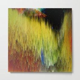 Planet Pixel Color The World Metal Print