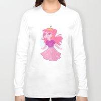 princess bubblegum Long Sleeve T-shirts featuring Bubblegum by Pilotinta