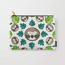 Mandala Sloth Carry-All Pouch