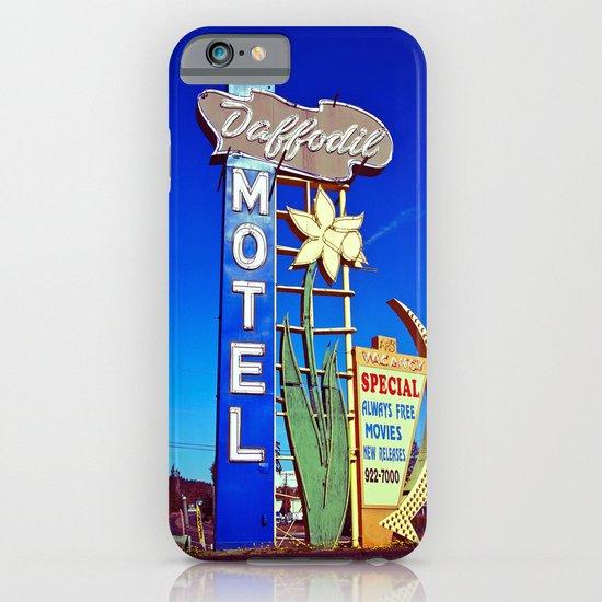 Daffodil Motel sign iPhone & iPod Case