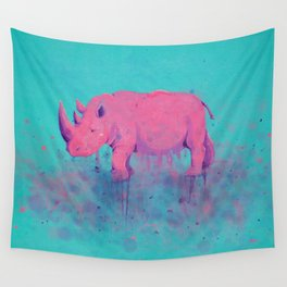 Save the Rhinos Wall Tapestry