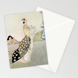 """Nightingale and Rose"" Fairy Art by Charles Robinson Stationery Cards"