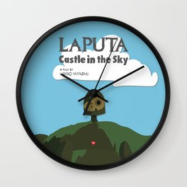 Laputa Castle in the Sky Wall Clock