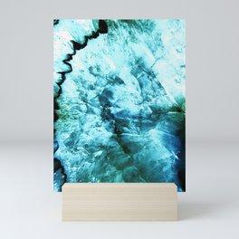 Agate Abstract Mini Art Print