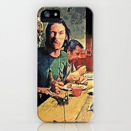 The Dinner Scene iPhone Case